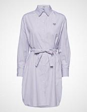 Kenzo Dresses Main Knelang Kjole Blå KENZO