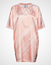 Adidas Originals Trefoil Dress Knelang Kjole Rosa ADIDAS ORIGINALS