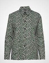 Marimekko Leikki Pikku Vikuri Shirt Bluse Langermet Grønn MARIMEKKO
