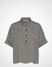 Lovechild 1979 Brooklyn Shirt Bluse Kortermet Svart LOVECHILD 1979