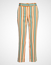 Mos Mosh Bella Pant Bukser Med Rette Ben Multi/mønstret MOS MOSH