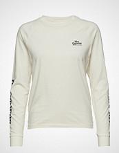 Wood Wood Halli Long Sleeve T-shirts & Tops Long-sleeved Creme WOOD WOOD