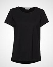 Fransa Zaganic 2 T-Shirt T-shirts & Tops Short-sleeved Svart FRANSA