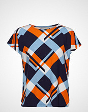 Fransa Frciround 1 T-Shirt T-shirts & Tops Short-sleeved Multi/mønstret FRANSA
