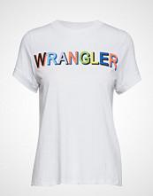 Wrangler 80´S Tee T-shirts & Tops Short-sleeved Hvit WRANGLER