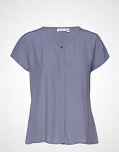 Masai Ia Blouse T-shirts & Tops Short-sleeved Blå MASAI