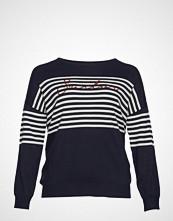 Violeta by Mango Sequin Message Sweater Strikket Genser Blå VIOLETA BY MANGO