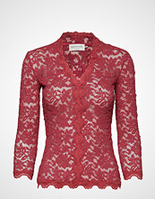Rosemunde T-Shirt 3/4 S Strikkegenser Cardigan Rød ROSEMUNDE