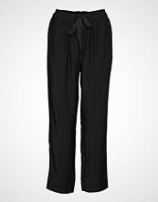 Second Female Breeze Hw Trousers Vide Bukser Svart SECOND FEMALE