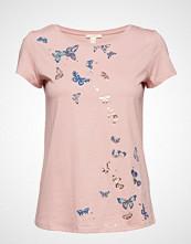 Esprit Casual T-Shirts T-shirts & Tops Short-sleeved Rosa ESPRIT CASUAL