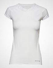 Skins Dnamic Primary Womens S/S Top T-shirts & Tops Short-sleeved Hvit SKINS