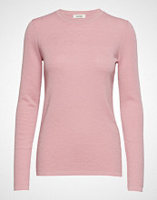 nué notes Selma Round Neck Strikket Genser Rosa NUÉ NOTES