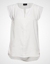 FREE/QUENT Ally-Bl Bluse Ermeløs Hvit FREE/QUENT