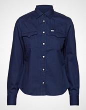 Lee Jeans Workwear Western Langermet Skjorte Blå LEE JEANS