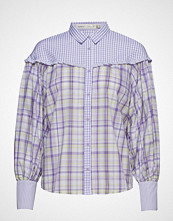 InWear Nita Shirt Langermet Skjorte Lilla INWEAR