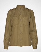 Scotch & Soda Workwear Inspired Shirt In Drapy Quality Langermet Skjorte Grønn SCOTCH & SODA