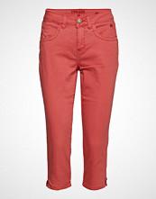 Cream Vita Capri Twill Jeans - Regular Fi Bukser Med Rette Ben Oransje CREAM