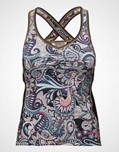 ODD MOLLY ACTIVE WEAR Sprinter Tank Top T-shirts & Tops Sleeveless Multi/mønstret ODD MOLLY ACTIVE WEAR
