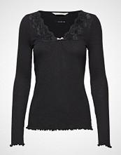 Odd Molly Rib-Eye Top T-shirts & Tops Long-sleeved Svart ODD MOLLY