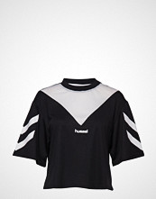 Hummel Hive Hmlani T-Shirt S/S T-shirts & Tops Short-sleeved Svart HUMMEL HIVE