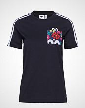 Adidas Originals Trefoil Tee T-shirts & Tops Short-sleeved Svart ADIDAS ORIGINALS