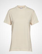 Holzweiler Suzana Tee T-shirts & Tops Short-sleeved Creme HOLZWEILER
