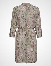 Mos Mosh Elaine Vita Dress Knelang Kjole Rosa MOS MOSH