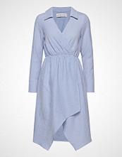Ivyrevel Shirt Dress Knelang Kjole Blå IVYREVEL