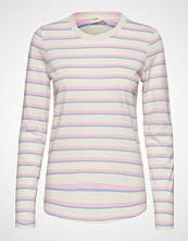 Levete Room Lr-Eika T-shirts & Tops Long-sleeved Rosa LEVETE ROOM