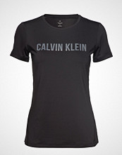 Calvin Klein Performance Short Sleeve Tee T-shirts & Tops Short-sleeved Svart CALVIN KLEIN PERFORMANCE