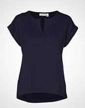 Masai Danny Top T-shirts & Tops Short-sleeved Blå MASAI
