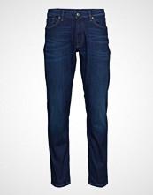 Gant O1. Slim Bistretch Jeans Slim Jeans Blå GANT