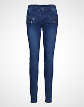 FREE/QUENT Aida-Je-Denim Skinny Jeans Blå FREE/QUENT
