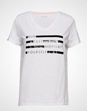 Esprit Sport T-Shirts T-shirts & Tops Short-sleeved Hvit ESPRIT SPORT