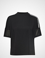 Adidas Performance W Zne Tee T-shirts & Tops Short-sleeved Svart ADIDAS PERFORMANCE