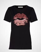 Sofie Schnoor T-Shirt T-shirts & Tops Short-sleeved Svart SOFIE SCHNOOR