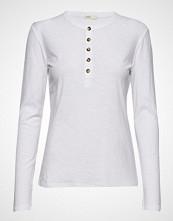 Levete Room Lr-Any T-shirts & Tops Long-sleeved Hvit LEVETE ROOM