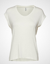 Only Onlwilma S/S Top Jrs Noos T-shirts & Tops Short-sleeved Hvit ONLY