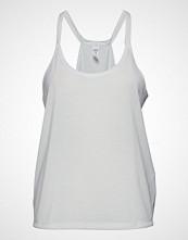 Under Armour Ua Whisperlight Tank Foldover T-shirts & Tops Sleeveless Hvit UNDER ARMOUR
