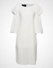 Designers Remix Dane Sleeve Dress Knelang Kjole Hvit DESIGNERS REMIX