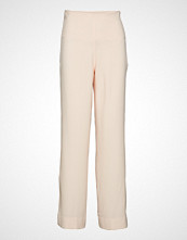 Cathrine Hammel High Waist Pants Vide Bukser Beige CATHRINE HAMMEL