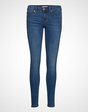 Gina Tricot Skinny Low Waist Superstretch Slim Jeans Blå GINA TRICOT