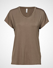 Soyaconcept Sc-Marica T-shirts & Tops Short-sleeved Beige SOYACONCEPT
