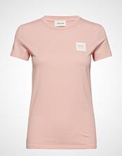 Wood Wood Eden T-Shirt T-shirts & Tops Short-sleeved Rosa WOOD WOOD
