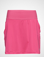 Puma Golf Pwrshape Solid Knit Skirt Kort Skjørt Rosa PUMA GOLF