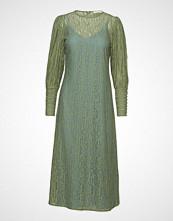POSTYR Posalexandra Lace Dress Maxikjole Festkjole Grønn POSTYR