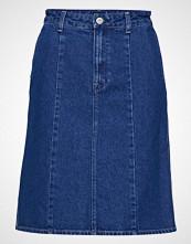 Lee Jeans A Line Skirt Kort Skjørt Blå LEE JEANS