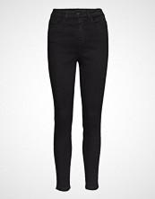 Vila Vicommit Felicia Hw Slim 7/8 Black Skinny Jeans Svart VILA