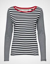 Esprit Casual T-Shirts T-shirts & Tops Long-sleeved Grå ESPRIT CASUAL