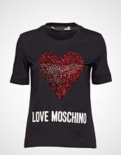 Love Moschino Love Moschino T-shirts & Tops Short-sleeved Svart LOVE MOSCHINO
